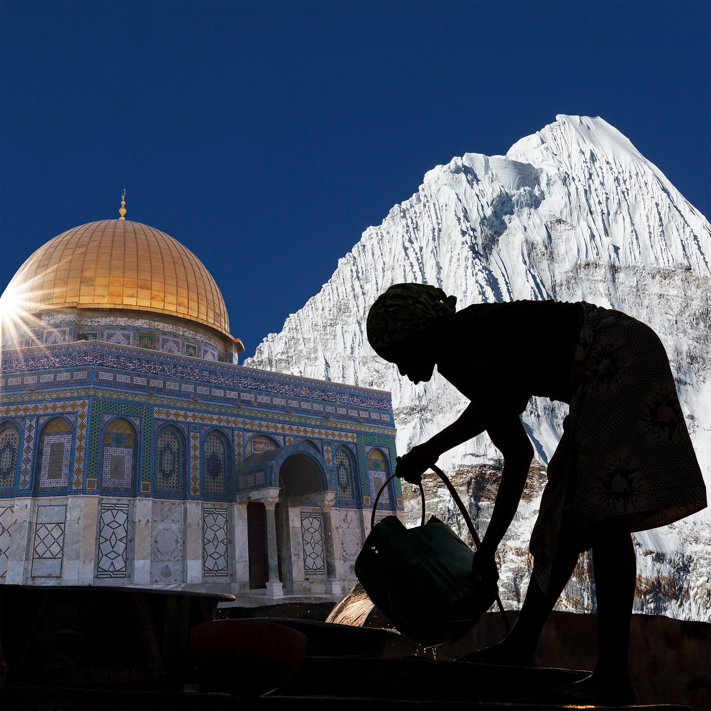 Weltreise mal anders: per Multivisionsshow zu Fair Trade Produzent*innen, Heiligtümern und Naturwundern